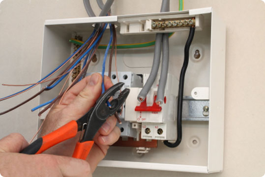 Consumer unit / fusebox installation